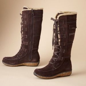 Timberland Earthkeepers Granby brown suede boots